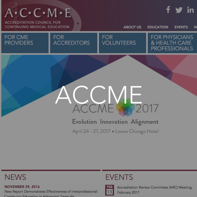 accme resource