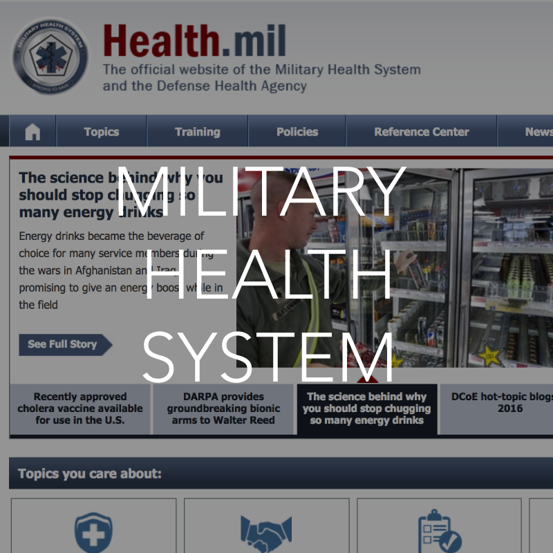 Military health system resource