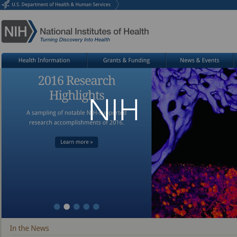 NIH resource