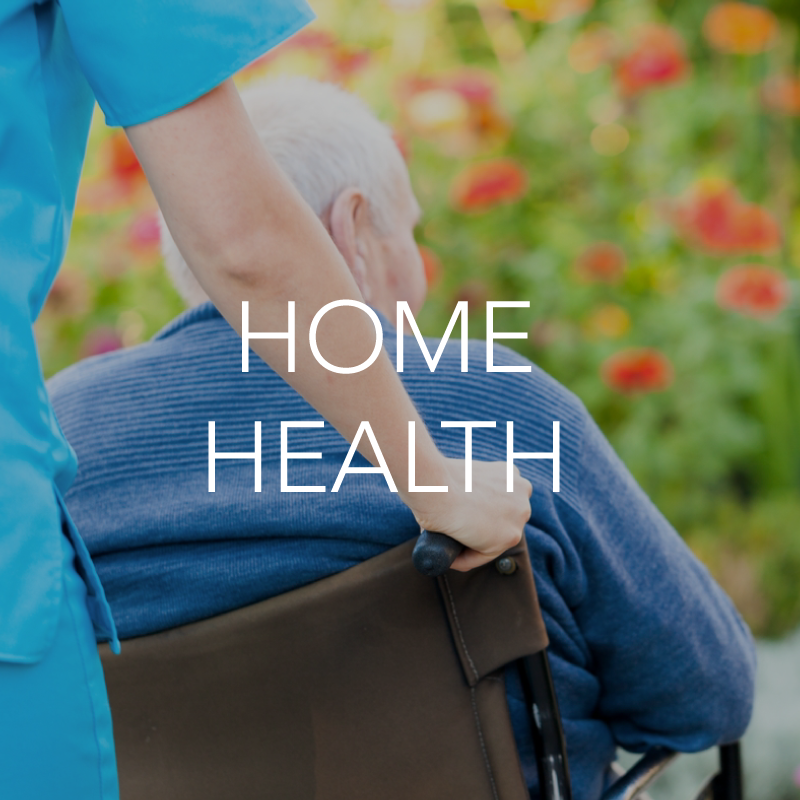 Home health healthcare setting